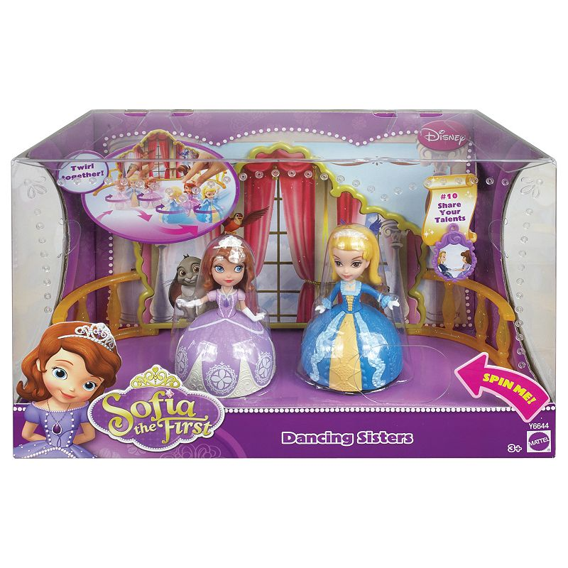 Disney Sofia the First Dancing Sisters by Mattel
