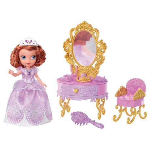Disney Sofia the First Ready for the Ball Royal Vanity by Mattel