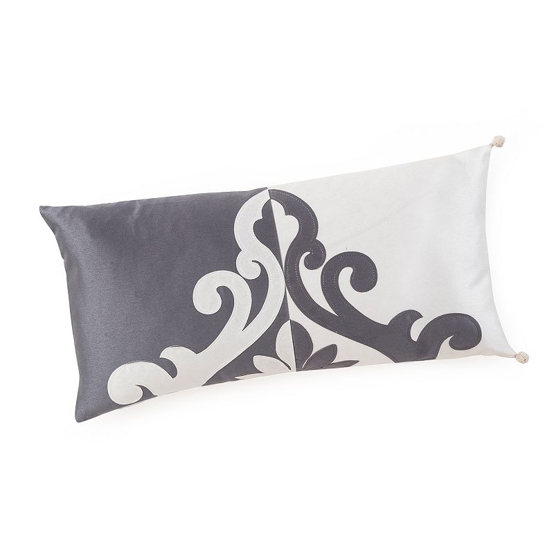 Marquis by Waterford Katana Reversible Oblong Decorative Pillow