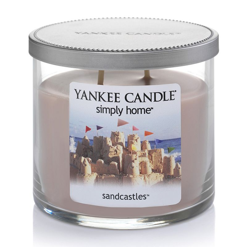 Yankee Candle simply home 10-oz. Sandcastles Jar Candle