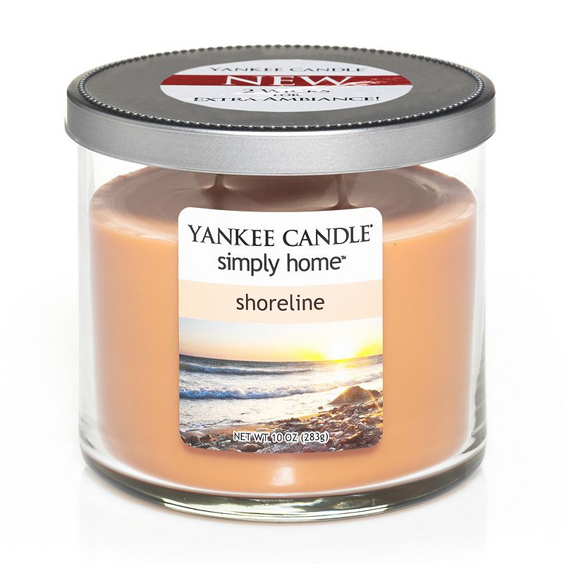 Yankee Candle simply home 10-oz. Shoreline Jar Candle
