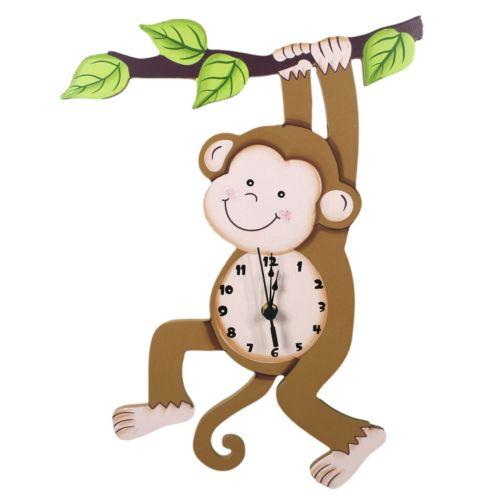 Teamson Kids Sunny Safari Wall Clock