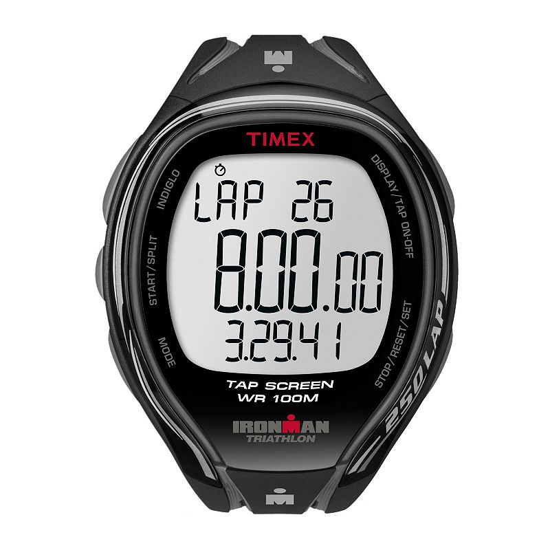 Timex Men's Ironman Sleek 250-Lap TapScreen Digital Chronograph Watch - T5K588E4