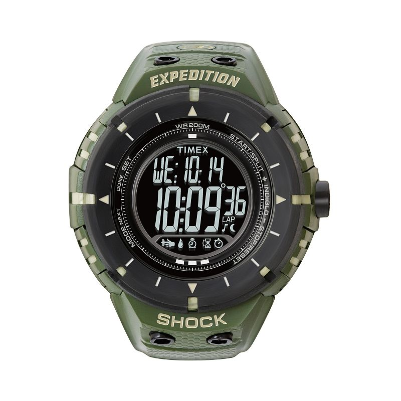 Timex Men's Expedition Trail Series Adventure Tech Digital Compass Watch - T49612DH