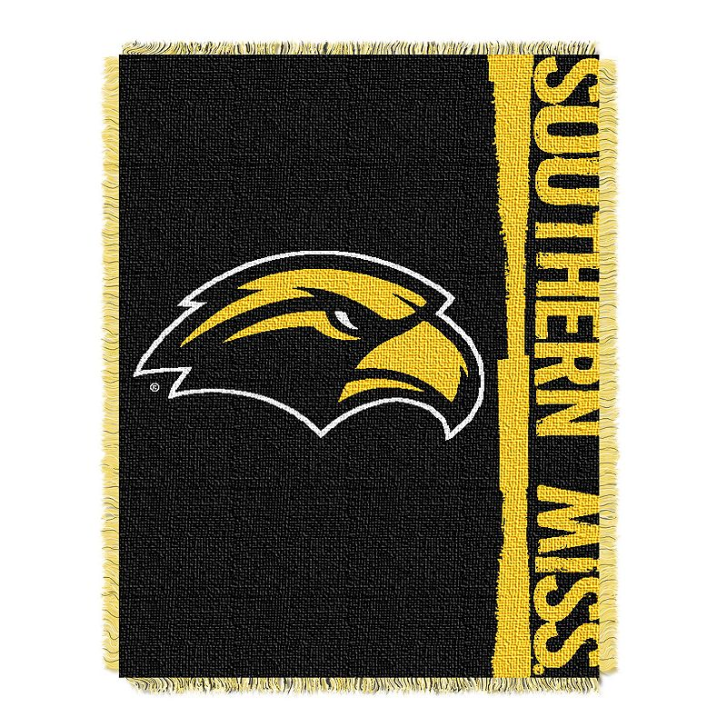 Southern Miss Golden Eagles Jacquard Throw Blanket by Northwest
