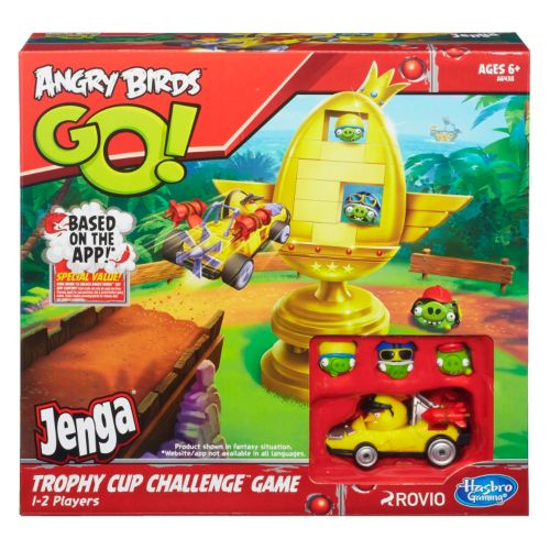 Angry Birds Go Jenga Trophy Cup Challenge Game by Hasbro