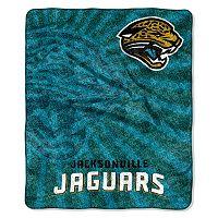Jacksonville Jaguars Sherpa Blanket