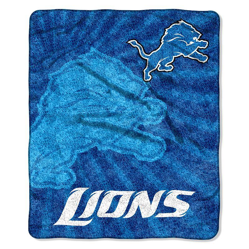 Detroit Lions Sherpa Blanket