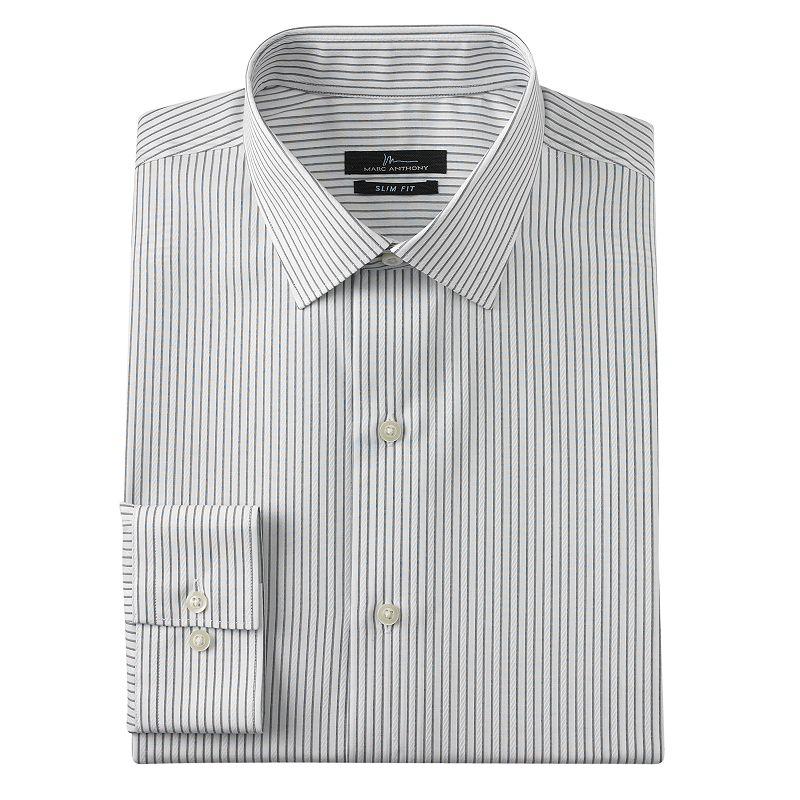 Marc anthony spread collar dress shirt kohl 39 s for Tony collar dress shirt