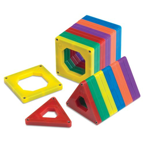 Discovery Kids 24-pc. Magnetic Building Tile Set