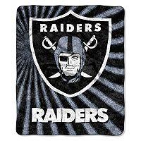 Oakland Raiders Sherpa Blanket