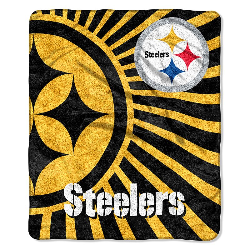 Pittsburgh Steelers Sherpa Blanket