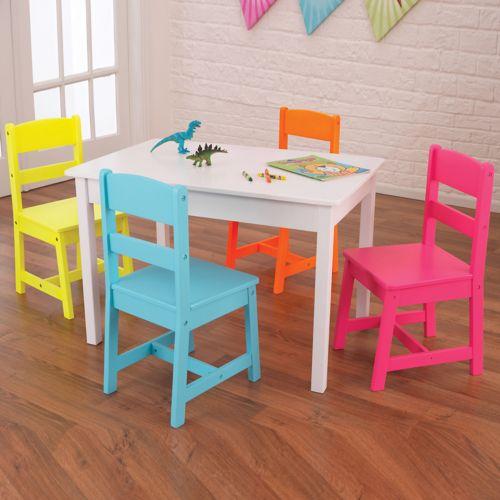KidKraft Highlighter Table & Chair Set
