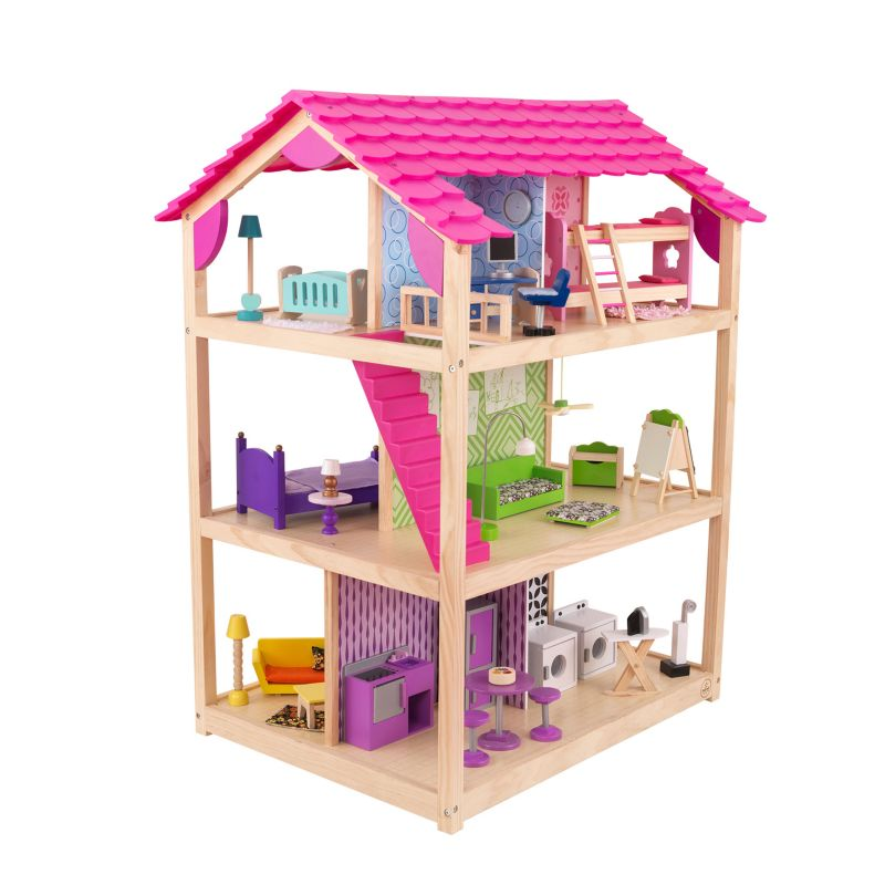 KidKraft So Chic Dollhouse, Multicolor