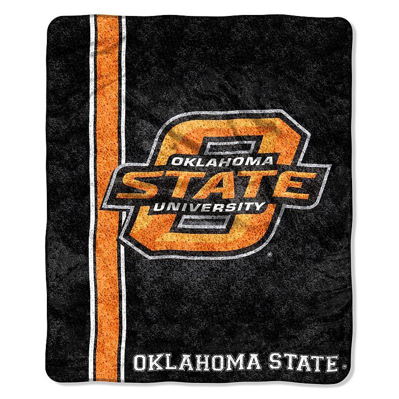 Oklahoma State Sherpa Blanket