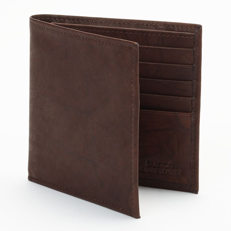 Buxton Leather Cardex Bifold Wallet