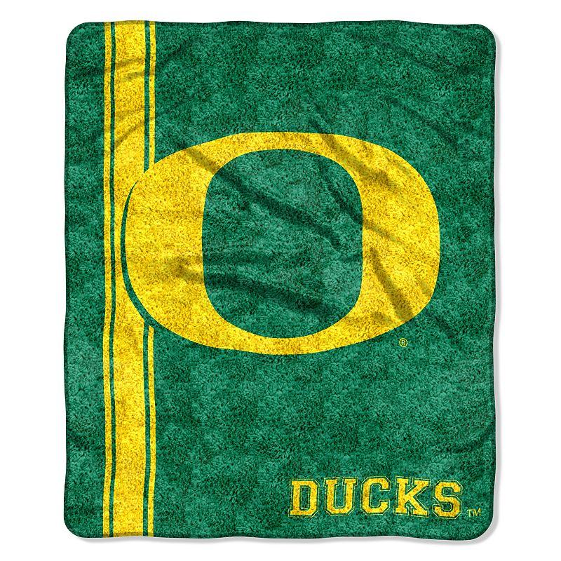 Oregon Ducks Sherpa Blanket