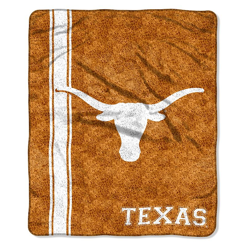 Texas Longhorns Sherpa Throw Blanket