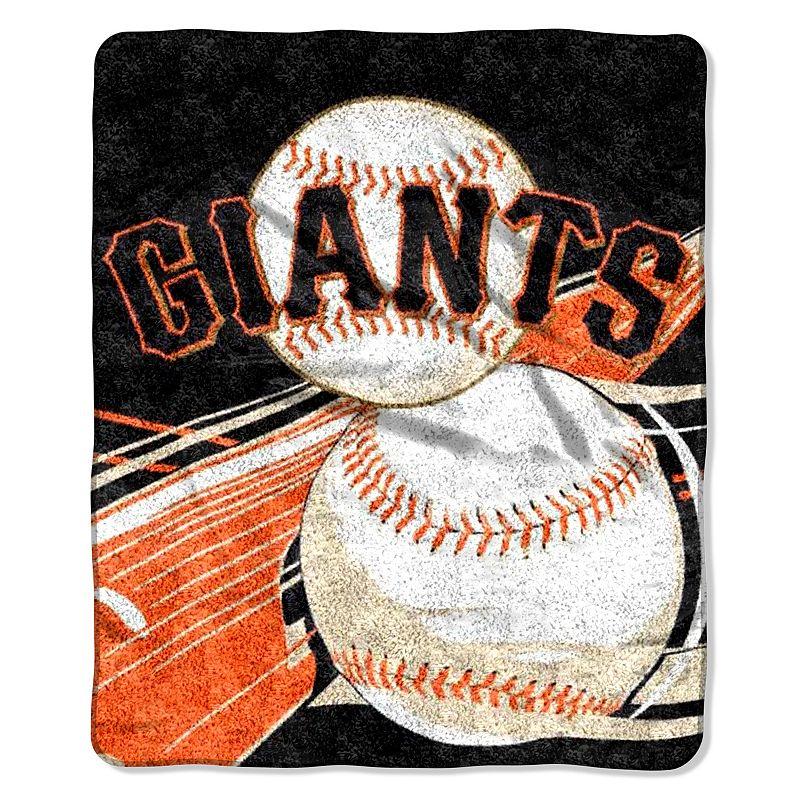 San Francisco Giants Sherpa Blanket