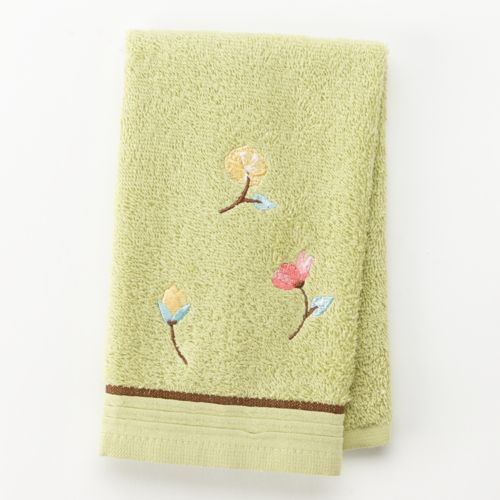 Alyssa Embroidered Fingertip Towel