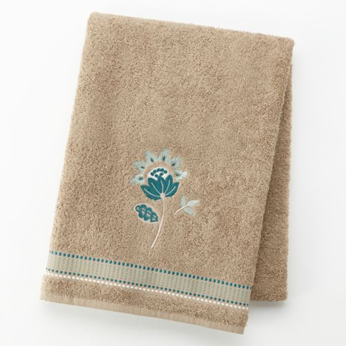 Kazoo Embroidered Bath Towel