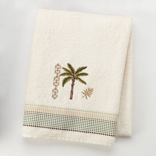 Martinique Embroidered Bath Towel