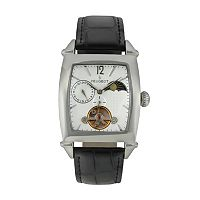 Peugeot Men's Automatic Leather Skeleton Watch - MK901S