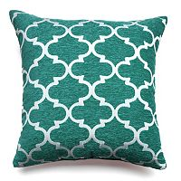 Spencer Club Lattice Throw Pillow