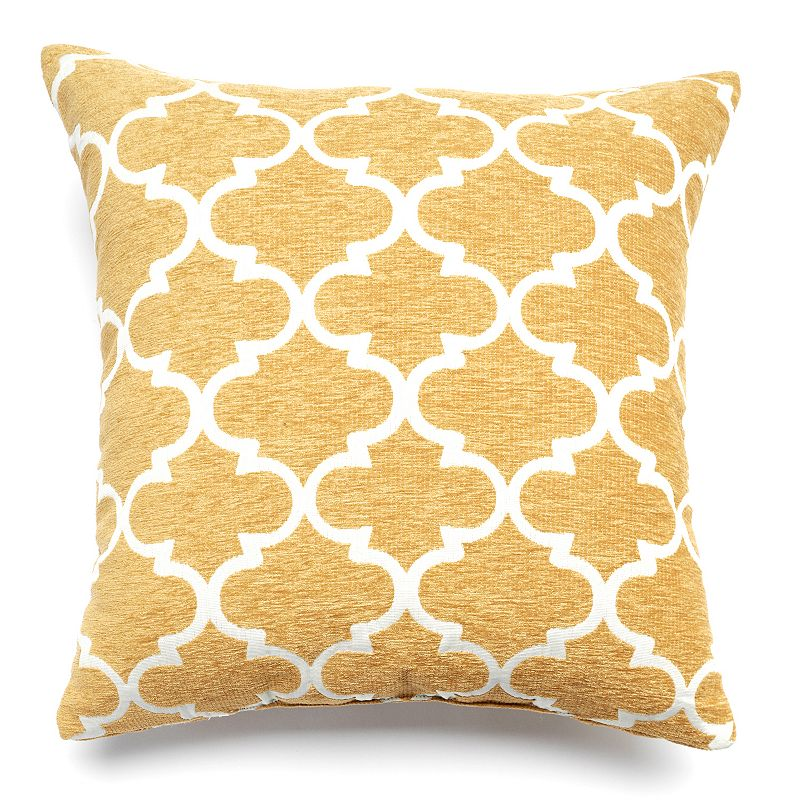 Kohls Yellow Throw Pillows : Teal Color Pillow Kohl s