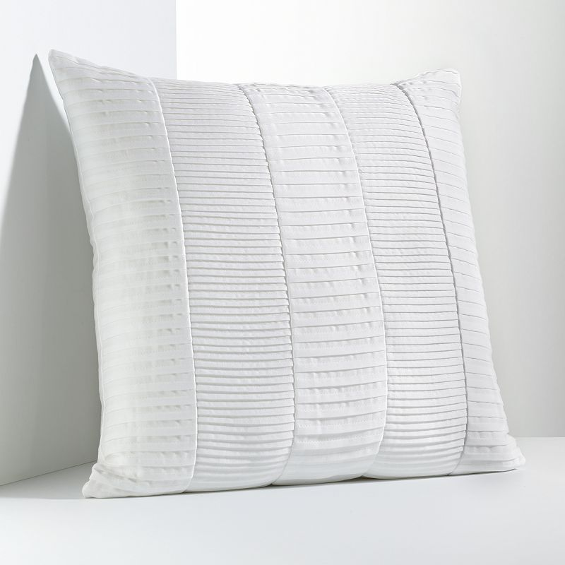 Simply Vera Vera Wang Solid Pleated Decorative Pillow