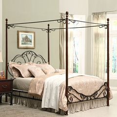 HomeVance 3-pc. Queen Headboard, Footboard & Frame Set by