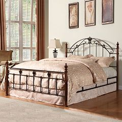 HomeVance Angela 3-pc. Queen Headboard, Footboard & Frame Set by