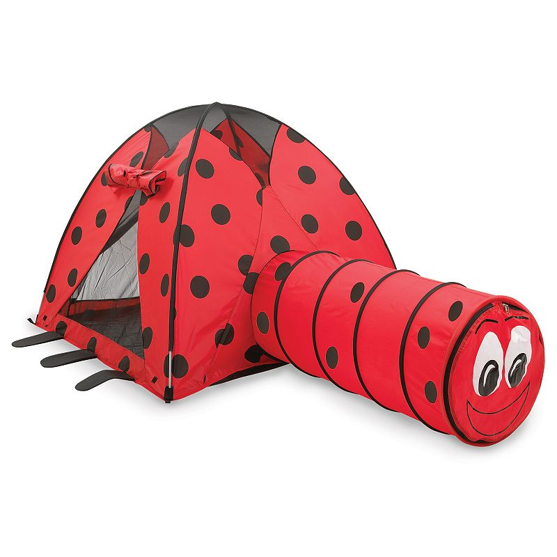 Pacific Play Tents Ladybug Tent & Tunnel Combo