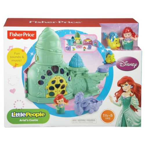 Disney Princess Little People Ariel's Castle by Fisher-Price