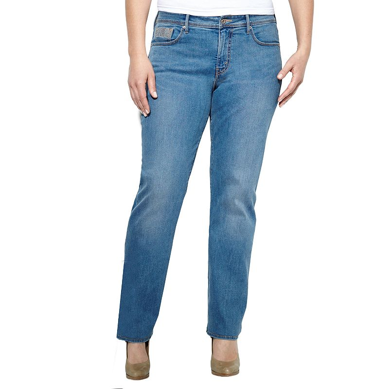 Plus Size Levi's Slim Straight-Leg Jeans