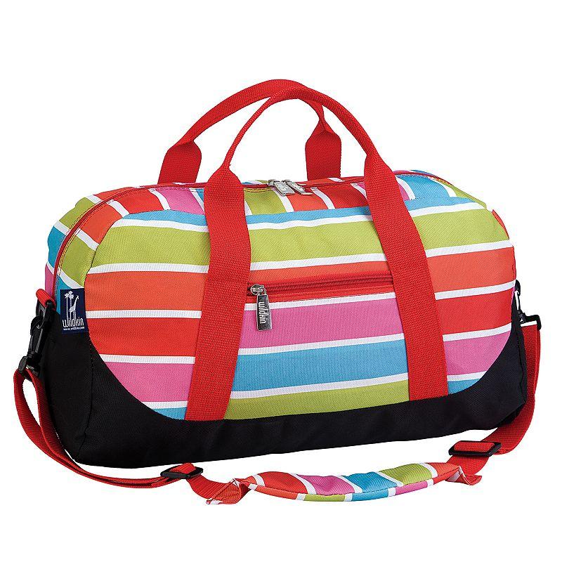 Wildkin Bright Stripes Duffel Bag - Kids