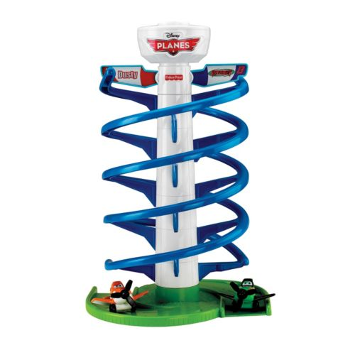 Disney Planes Spiral Flying Racers by Fisher-Price