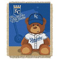 Kansas City Royals Baby Jacquard Throw