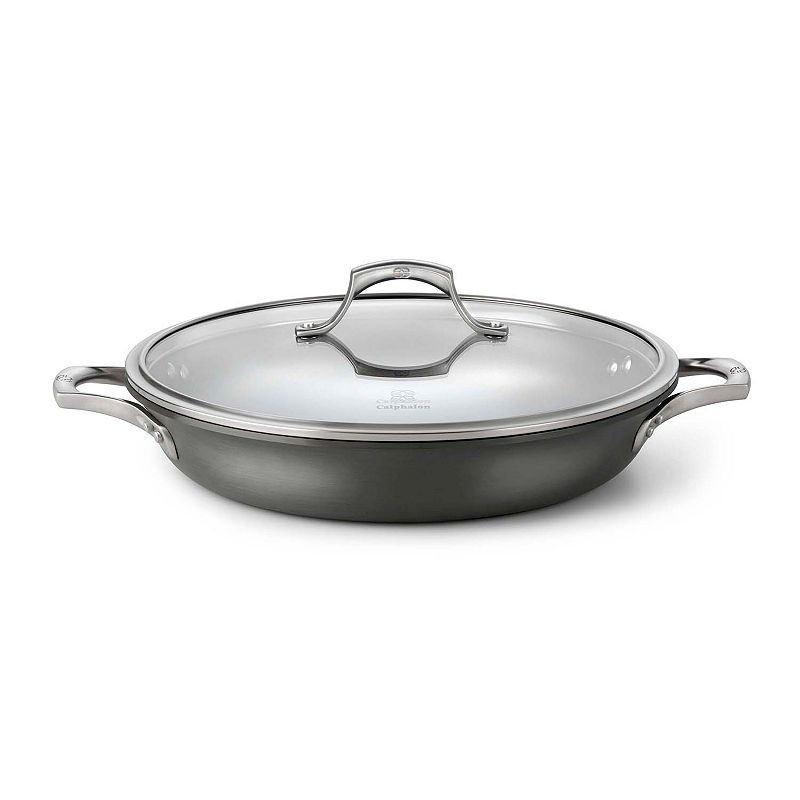Calphalon Unison 12-in. Hard-Anodized Nonstick Covered Everyday Pan