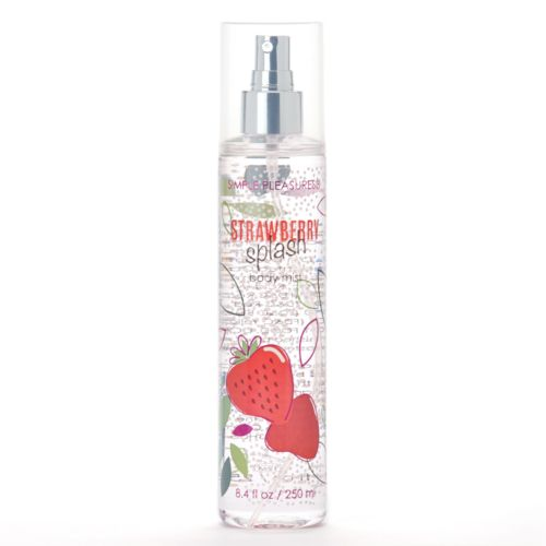 Simple Pleasures Strawberry Splash Body Mist