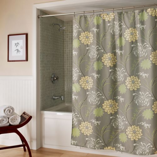 M. Style Harmony Fabric Shower Curtain