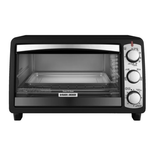 Black and Decker 6-Slice Toaster Oven