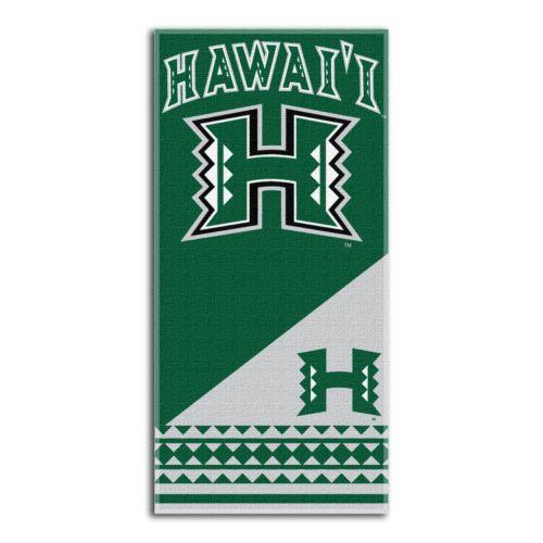 Hawaii Warriors Beach Towel by Northwest