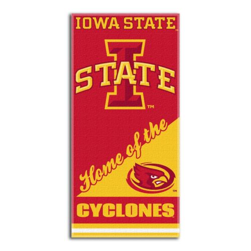 Iowa State Cyclones Beach Towel by Northwest