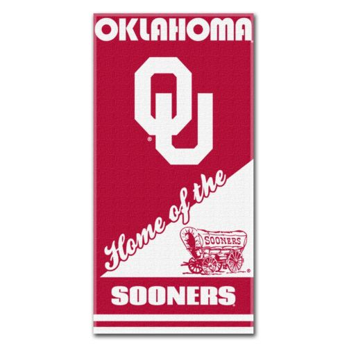 Oklahoma Sooners Beach Towel by Northwest
