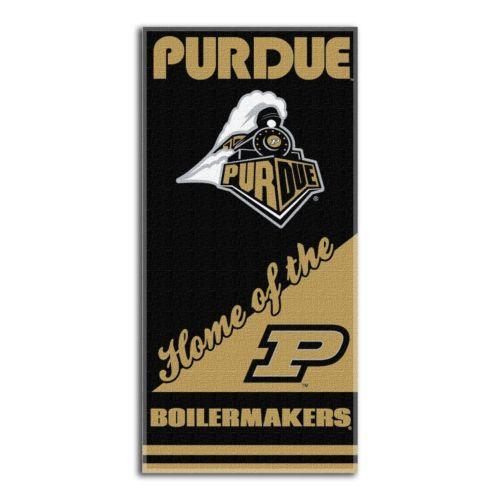 Purdue Boilermakers Beach Towel by Northwest