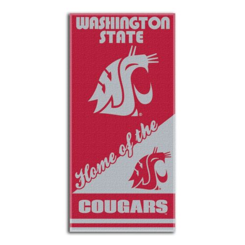 Washington State Cougars Beach Towel by Northwest