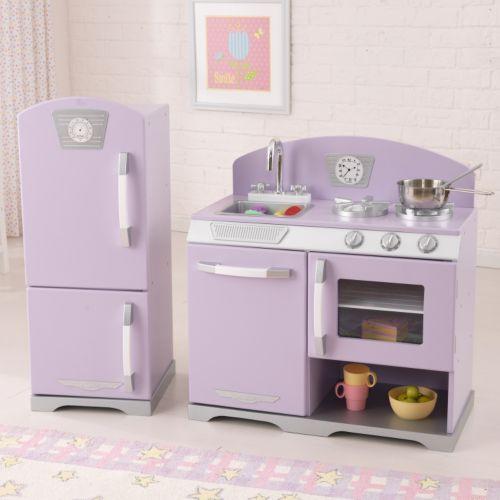 KidKraft Retro Kitchen & Refrigerator Play Set