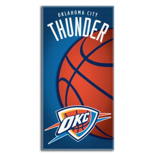 Oklahoma City Thunder Beach Towel by Northwest