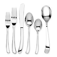 Ginkgo Sea Drift 42-pc. Flatware Set